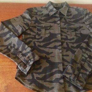 DKNY Jeans camo jacket/shirt
